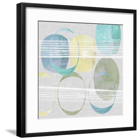 Stone Pattern I-Jennifer Goldberger-Framed Art Print