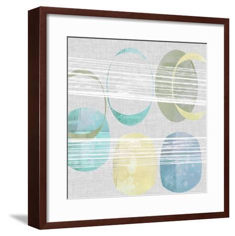 Stone Pattern II-Jennifer Goldberger-Framed Art Print