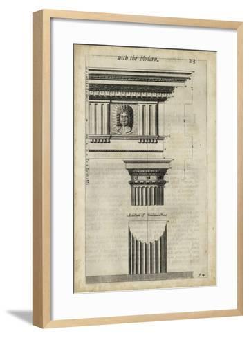 Ancient Architecture I-John Evelyn-Framed Art Print
