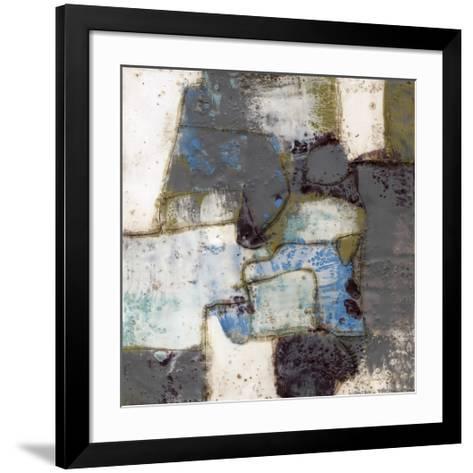 Abstract Connections I-Jennifer Goldberger-Framed Art Print