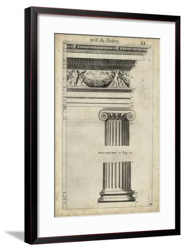 Ancient Architecture III-John Evelyn-Framed Art Print