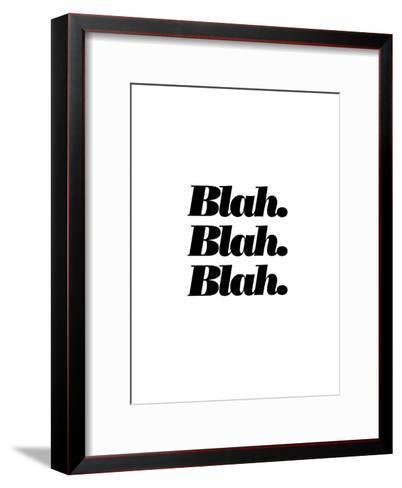 Blah Blah Blah-Brett Wilson-Framed Art Print