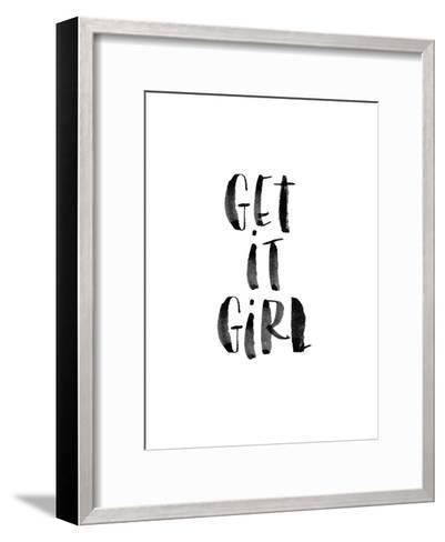 Get It Girl-Brett Wilson-Framed Art Print