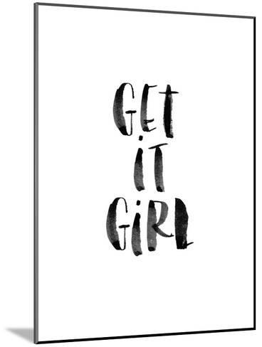 Get It Girl-Brett Wilson-Mounted Art Print