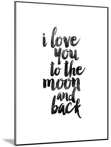 I Love You to the Moon and Back-Brett Wilson-Mounted Art Print