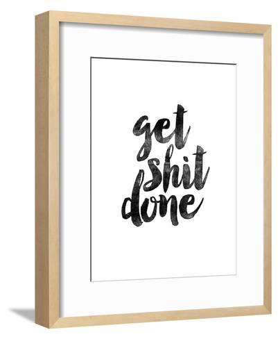 Get Shit Done 2-Brett Wilson-Framed Art Print