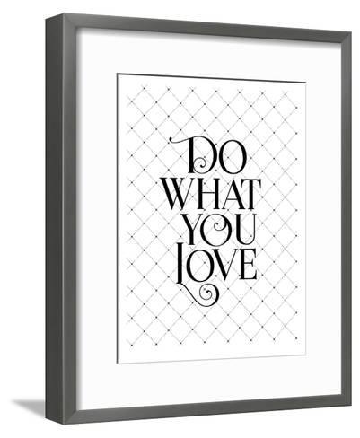 Do What You Love Fancy-Brett Wilson-Framed Art Print