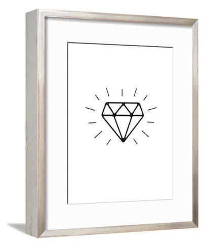 Diamond-Brett Wilson-Framed Art Print