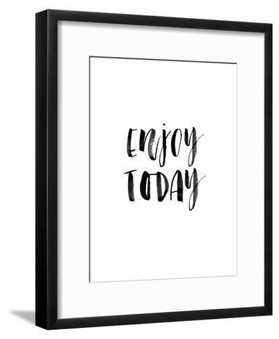 Enjoy Today Watercolor-Brett Wilson-Framed Art Print