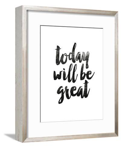 Today Will Be Great 2-Brett Wilson-Framed Art Print