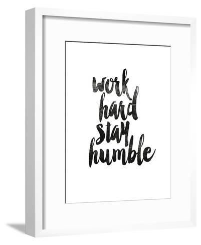 Work Hard Stay Humble 2-Brett Wilson-Framed Art Print