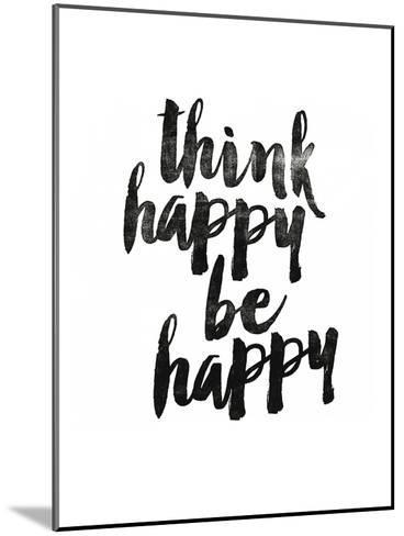 Think Happy Be Happy 2-Brett Wilson-Mounted Art Print