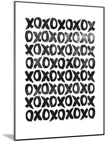 XOXO-Brett Wilson-Mounted Art Print