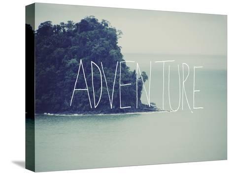Adventure Island-Leah Flores-Stretched Canvas Print