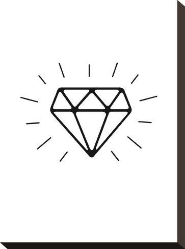 Diamond-Brett Wilson-Stretched Canvas Print