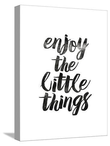 Enjoy the Little Things 2-Brett Wilson-Stretched Canvas Print