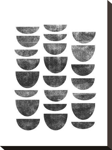 Scandanavian Geometry-Brett Wilson-Stretched Canvas Print