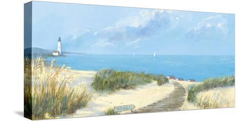 Blue Haven Bay I-Hazel Barker-Stretched Canvas Print