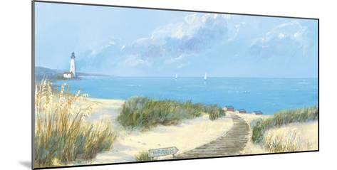 Blue Haven Bay I-Hazel Barker-Mounted Art Print