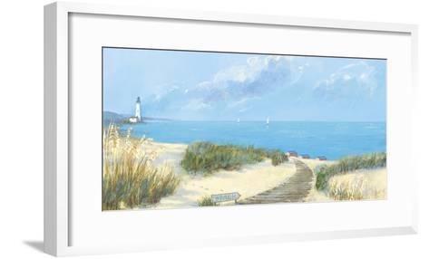 Blue Haven Bay I-Hazel Barker-Framed Art Print