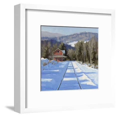 Winter?Crossing-Fenner Ball-Framed Art Print