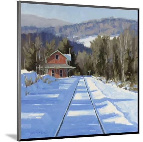 Winter?Crossing-Fenner Ball-Mounted Giclee Print