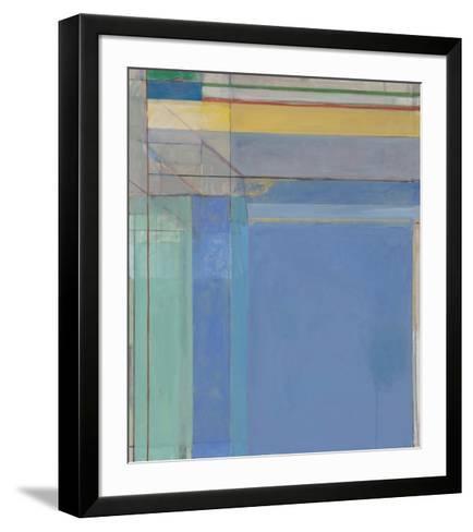 Ocean Park #79, 1975-Richard Diebenkorn-Framed Art Print