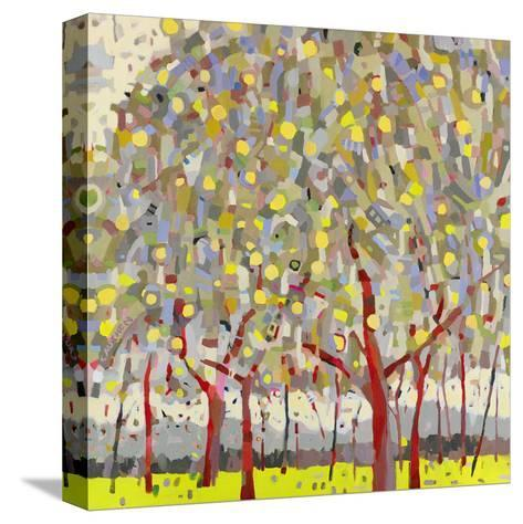 Silver Orchard-Jean Cauthen-Stretched Canvas Print