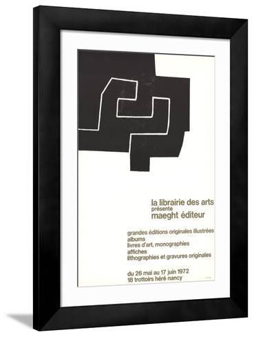 La Librairie des Arts-Eduardo Chillida-Framed Art Print