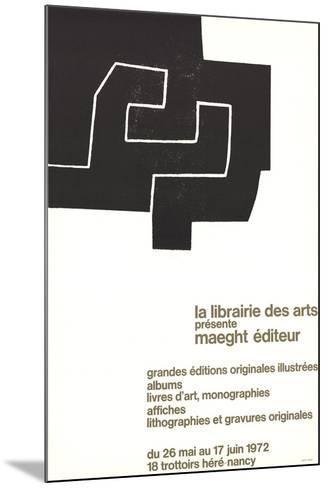 La Librairie des Arts-Eduardo Chillida-Mounted Collectable Print