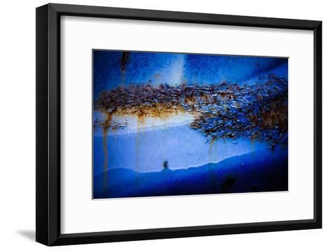 Blue Pathway IV-Jean-Fran?ois Dupuis-Framed Art Print