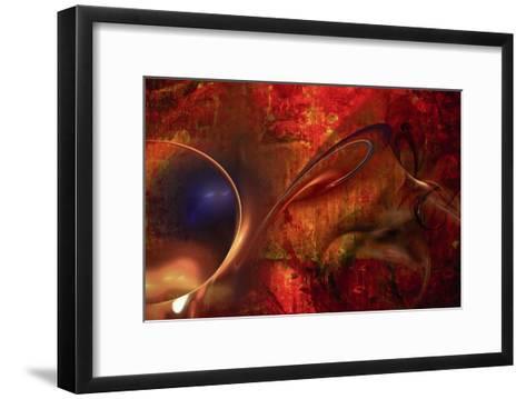 Liquid Perspective III-Jean-Fran?ois Dupuis-Framed Art Print