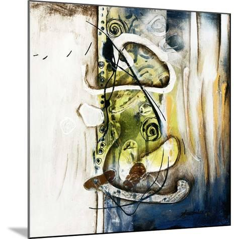 Alléger cette situation-Sylvie Cloutier-Mounted Art Print