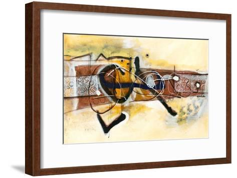 Volubilité-Sylvie Cloutier-Framed Art Print