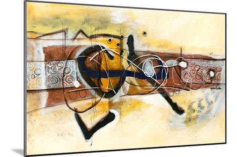 Volubilité-Sylvie Cloutier-Mounted Art Print