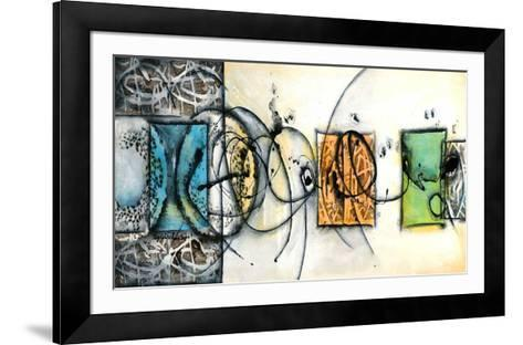 Circularité-Sylvie Cloutier-Framed Art Print