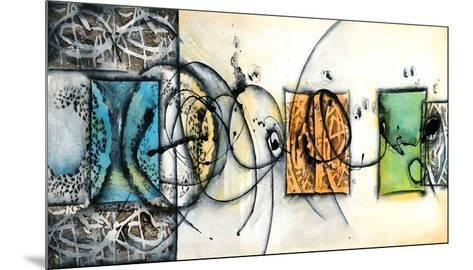 Circularité-Sylvie Cloutier-Mounted Art Print