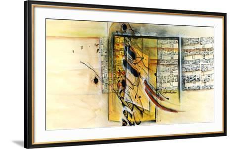 Vers la ruche-Sylvie Cloutier-Framed Art Print