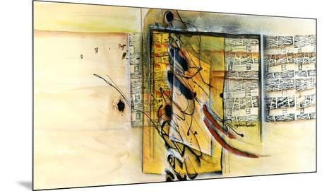 Vers la ruche-Sylvie Cloutier-Mounted Art Print