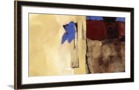 Le cœur est un oiseau-Diane Lambin-Framed Art Print