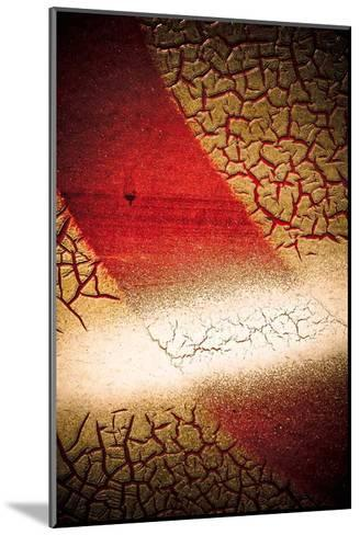 Rust Line Abstract I-Jean-Fran?ois Dupuis-Mounted Art Print