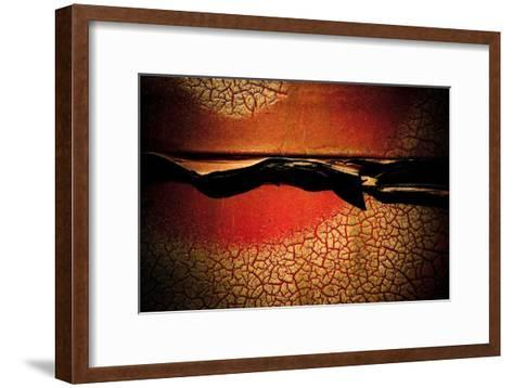 Abstract Rust Circle II-Jean-Fran?ois Dupuis-Framed Art Print