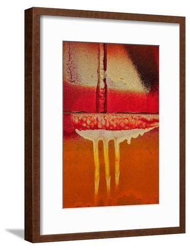 Graffiti Surface I-Jean-Fran?ois Dupuis-Framed Art Print