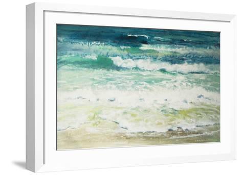 Shoreline Study 815-Carole Malcolm-Framed Art Print