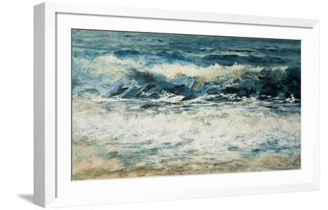 Shoreline Study 315-Carole Malcolm-Framed Art Print
