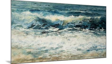 Shoreline Study 315-Carole Malcolm-Mounted Art Print