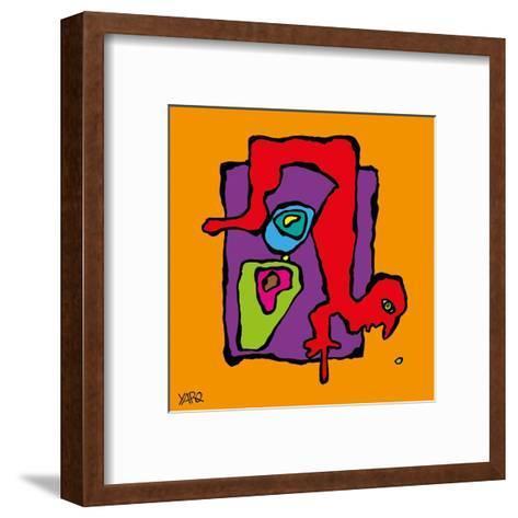 Upside Down-Yaro-Framed Art Print