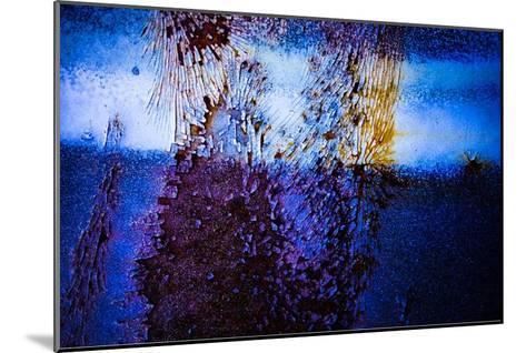 Blue Pathway III-Jean-Fran?ois Dupuis-Mounted Art Print