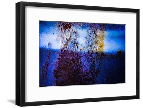 Blue Pathway III-Jean-Fran?ois Dupuis-Framed Art Print