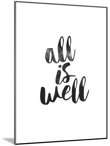 All Is Well-Brett Wilson-Mounted Art Print